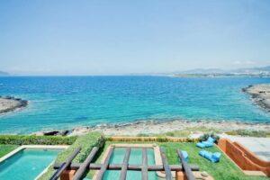 Seafront Villa at Sounio South Attica, Villas in Athens For Sale