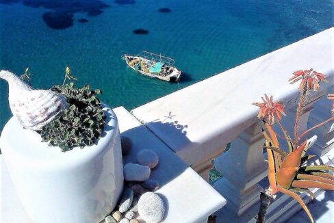 Seafront Villa for Sale in Syros Island, Seafront Property Greek Island