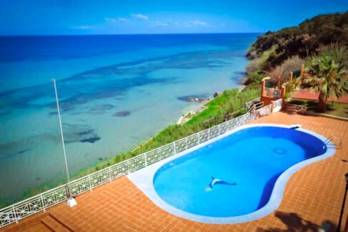 Seafront Villa in Zakynthos, Top villas for sale Greece, Zante Realty 2