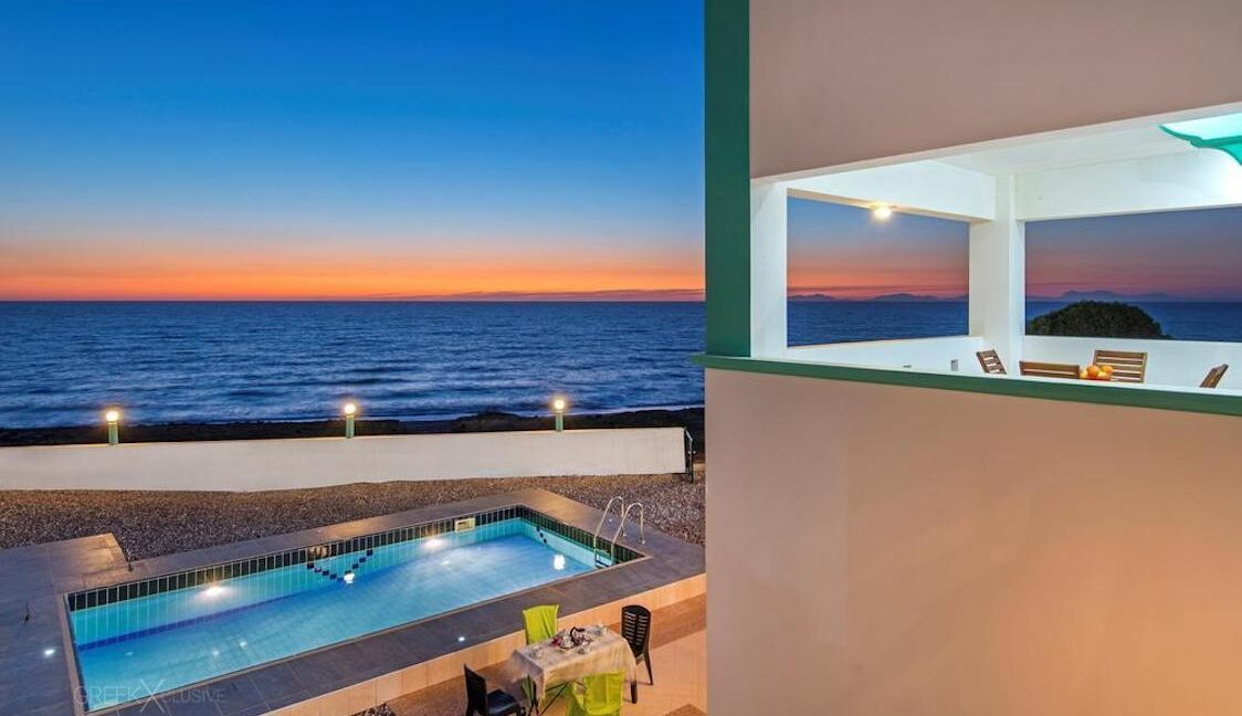 Seafront Villas in Rhodes Greece , Seafront Properties Greece