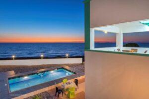 Seafront Villas in Rhodes Greece , Seafront Properties Greece