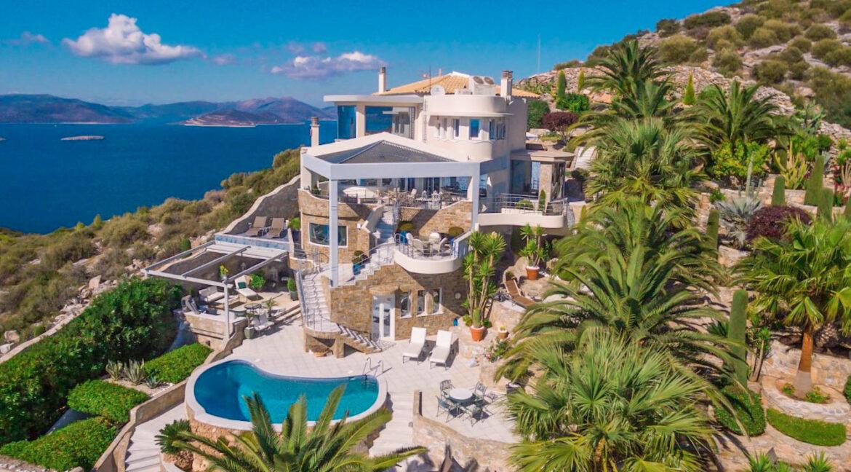 Seaside Villa in Attica, Seaside Villa Marathonas Schinia. Athens Villas for sale 1