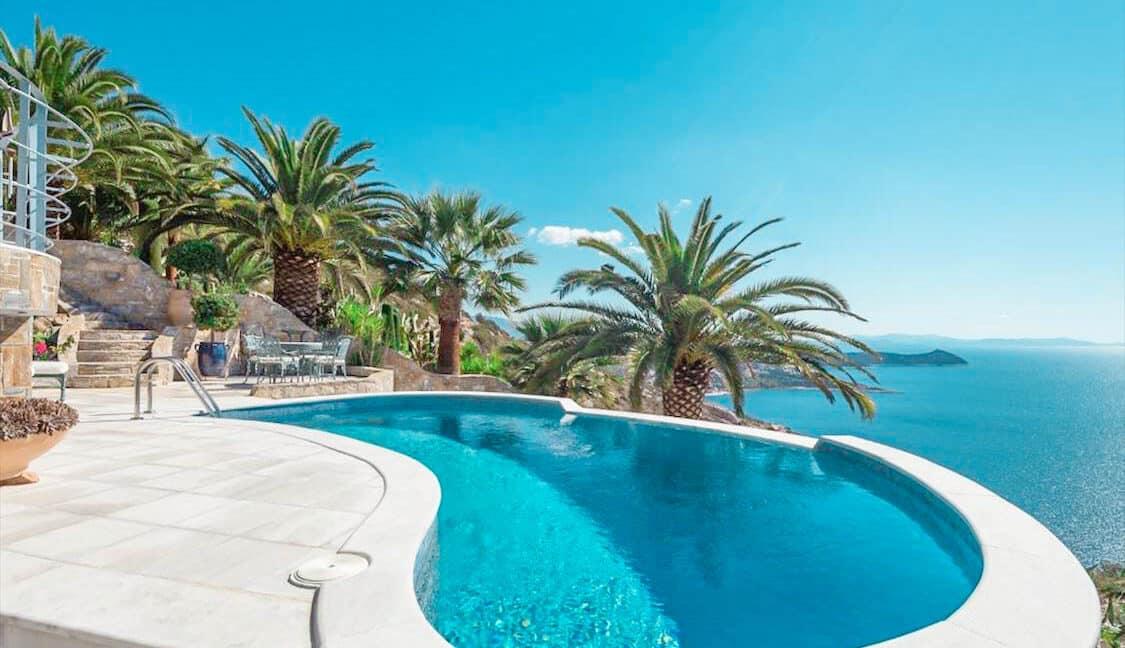 Seaside Villa in Attica, Seaside Villa Marathonas Schinia. Athens Villas for sale