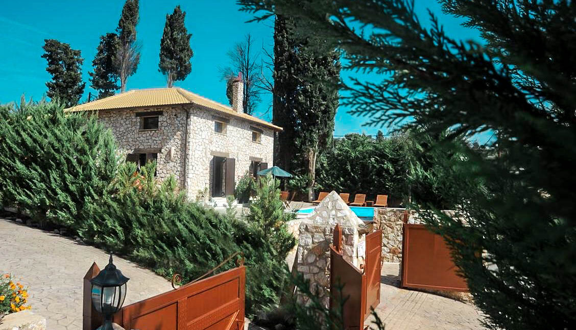 Stone House Lefkas Island for Sale Greece. Lefkada Greece Properties