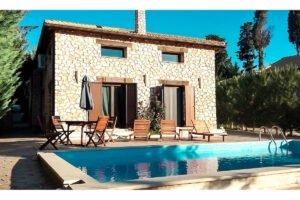 Traditional House Lefkada Island Ionio Greece. Lefkada Greece Properties