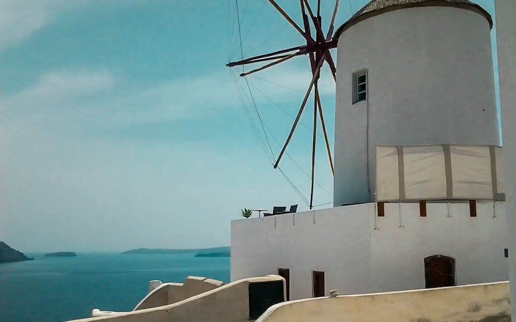 Windmill for Sale Santorini, Santorini Homes for sale