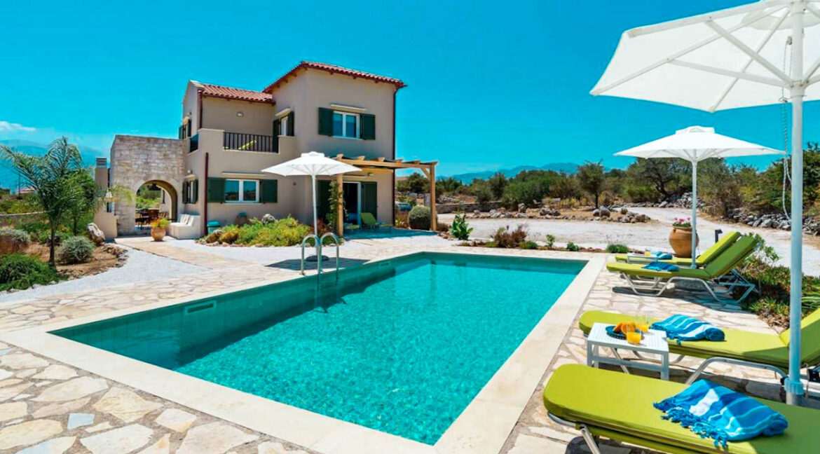 Apokoronas Luxury Villa for sale, Property near Chania Crete Greece