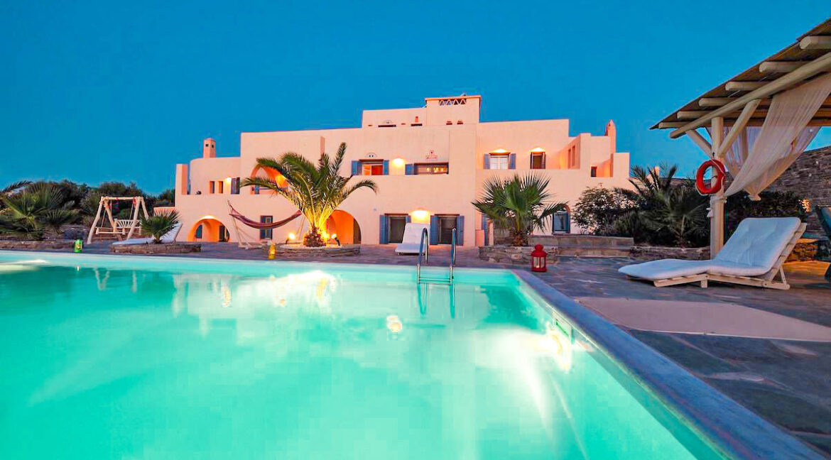 Big Property in Greek Island Paros Greece, Luxury Homes in Greece