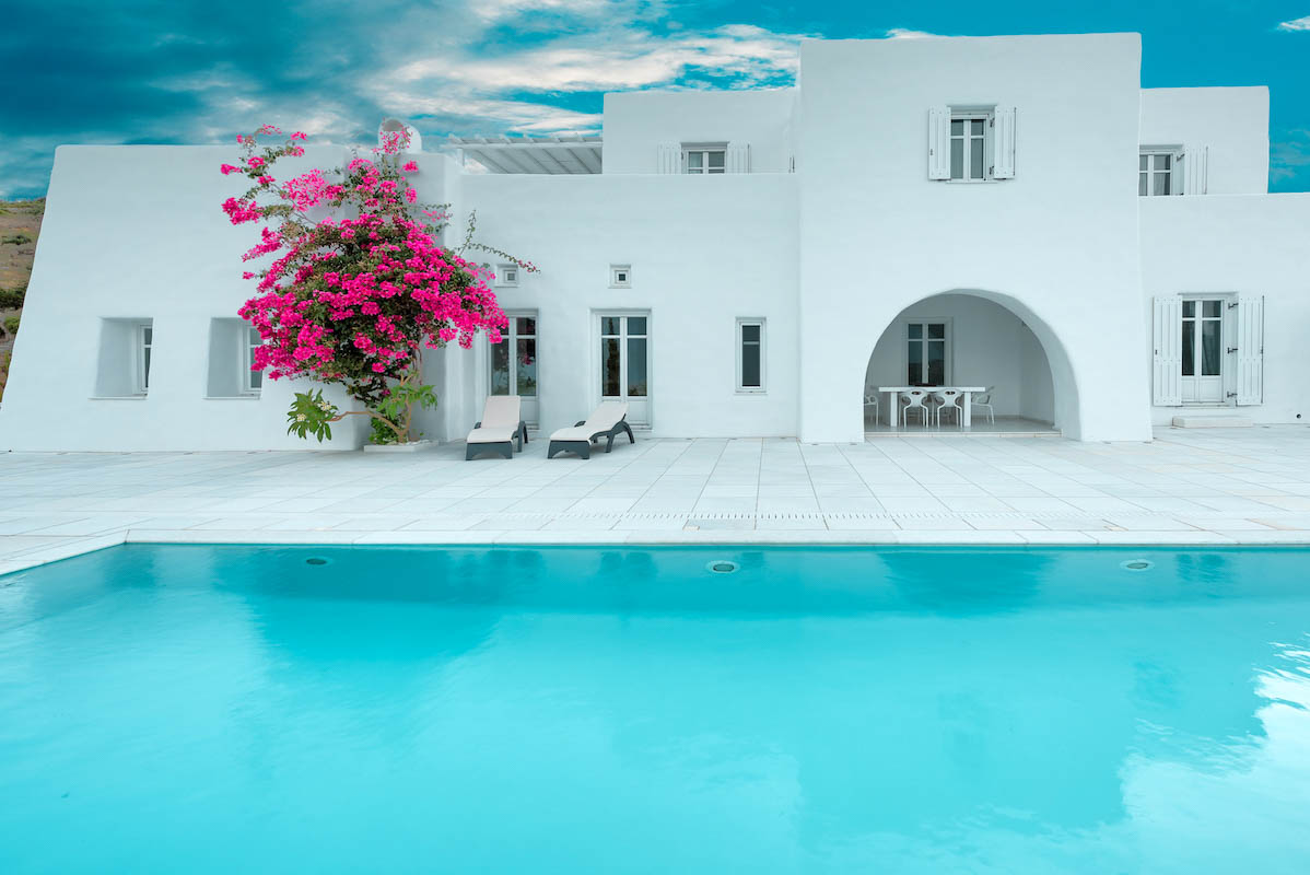 Hill Top Villa in Paros Greece