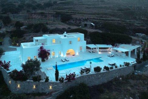 Hill Top Villa in Paros Greece, Paros Properties, Villas in Paros