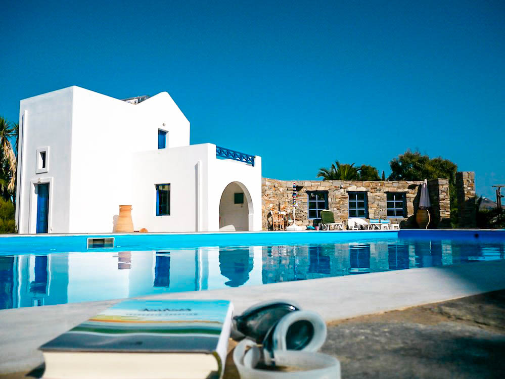 Hotel for Sale Paros Greece with 17 suites and sea view