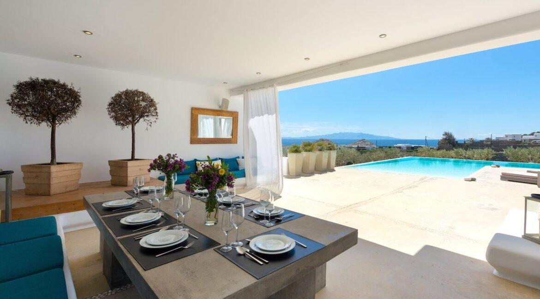 Luxury Sea View Villa Mykonos Greece. Mykonos Luxury Estates 18