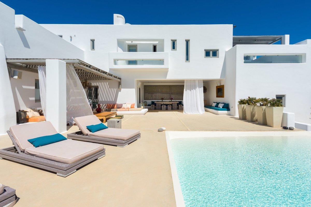 Luxury Sea View Villa Mykonos Greece