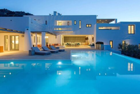 Luxury Sea View Villa Mykonos Greece. Mykonos Luxury Estates 35