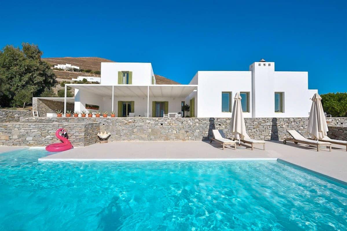 2 Villas Consisting a big Mansion in Paros