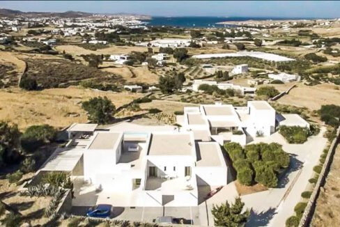 Mansion in Paros for sale, Paros Villa. Luxury Property Paros Greece for Sale from above 3