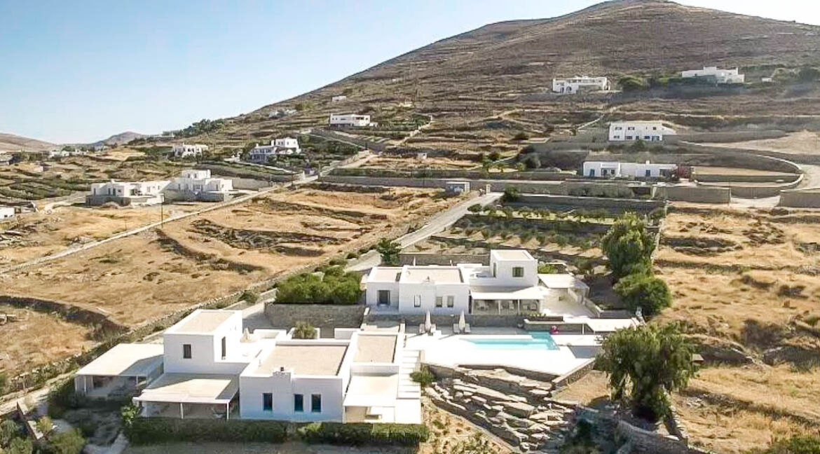 Mansion in Paros for sale, Paros Villa. Luxury Property Paros Greece for Sale from above 4