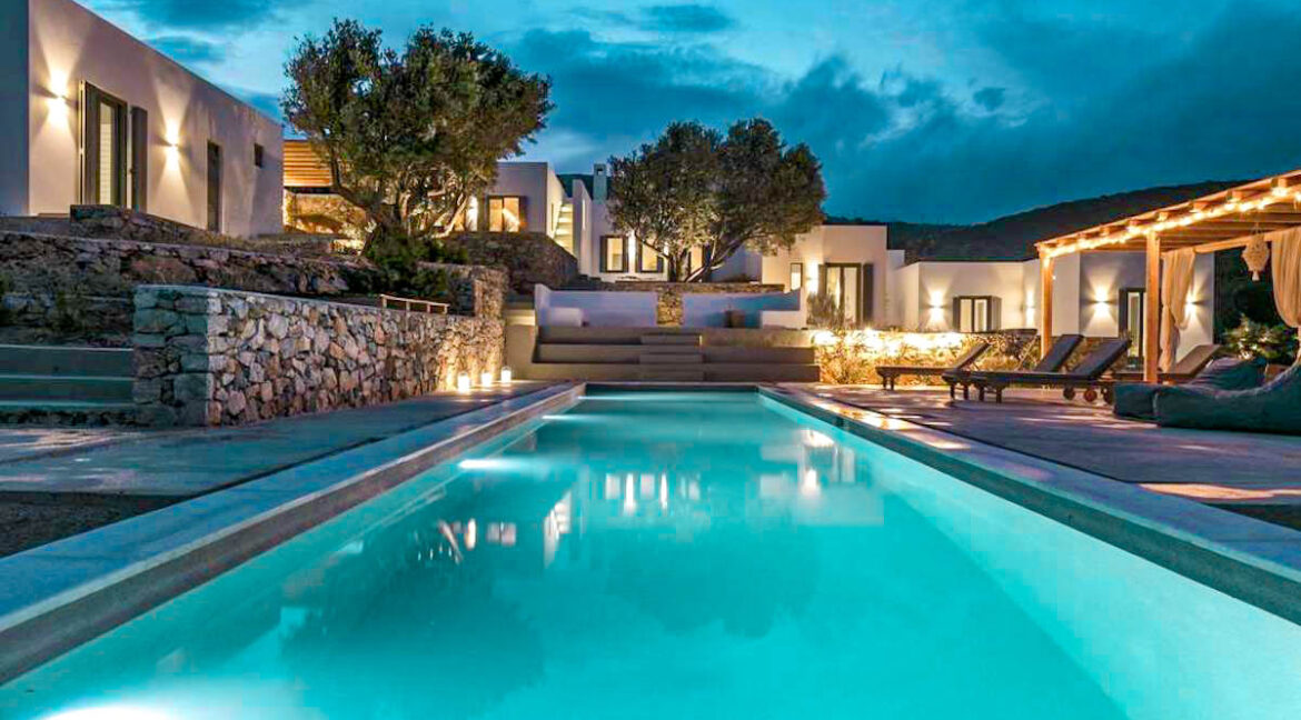 Minimal Villa Paros Greece For Sale, Paros Properties. Cyclades Paros Greece, Homes in Paros