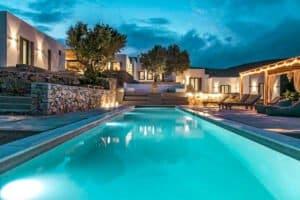 Minimal Villa Paros Greece For Sale, Paros Properties. Cyclades Paros Greece, Homes in Paros