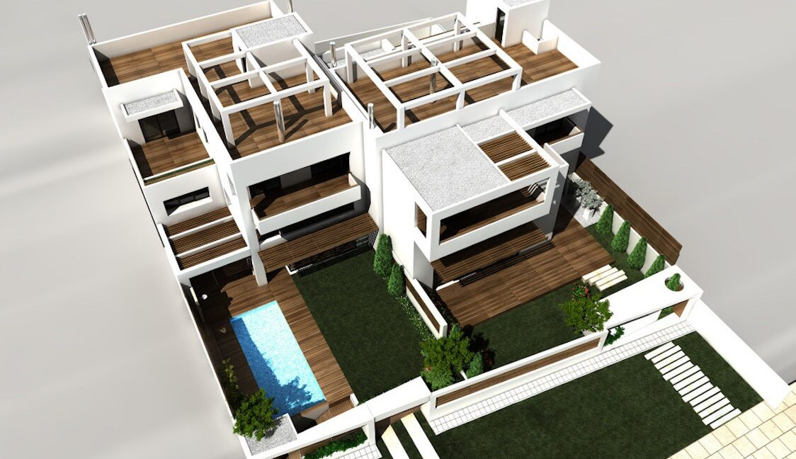 Modern maisonette with pool and garden, Alimos, South Athens 12