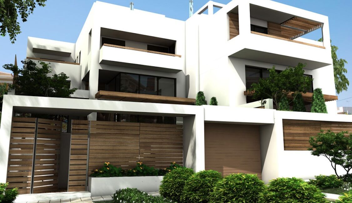 Modern maisonette with pool and garden, Alimos, South Athens 14