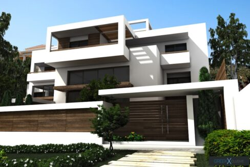 Modern maisonette with pool and garden, Alimos, South Athens 15