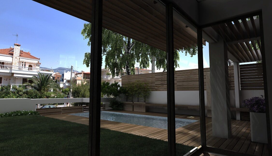 Modern maisonette with pool and garden, Alimos, South Athens 2