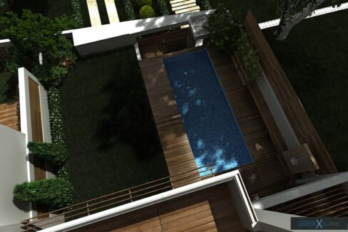 Modern maisonette with pool and garden, Alimos, South Athens 8