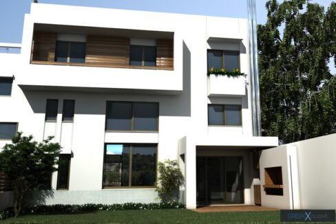 Modern maisonette with pool and garden, Alimos, South Athens 9