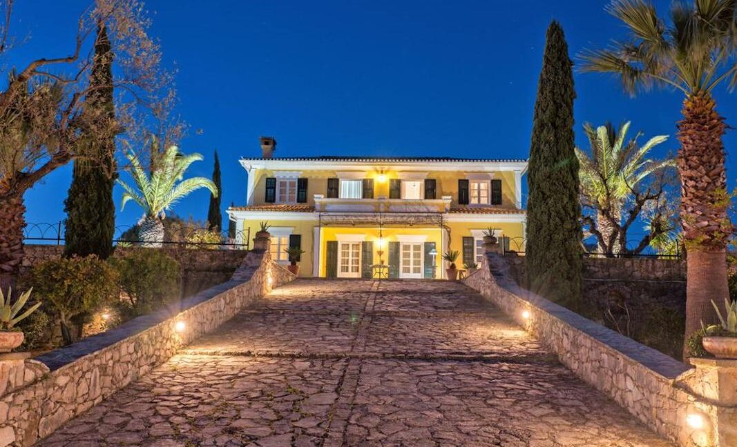 Neoclassic Mansion in Zakynthos Greece, Zakynthos Homes. Zante Properties, Zakynthos Ionio Real Estate