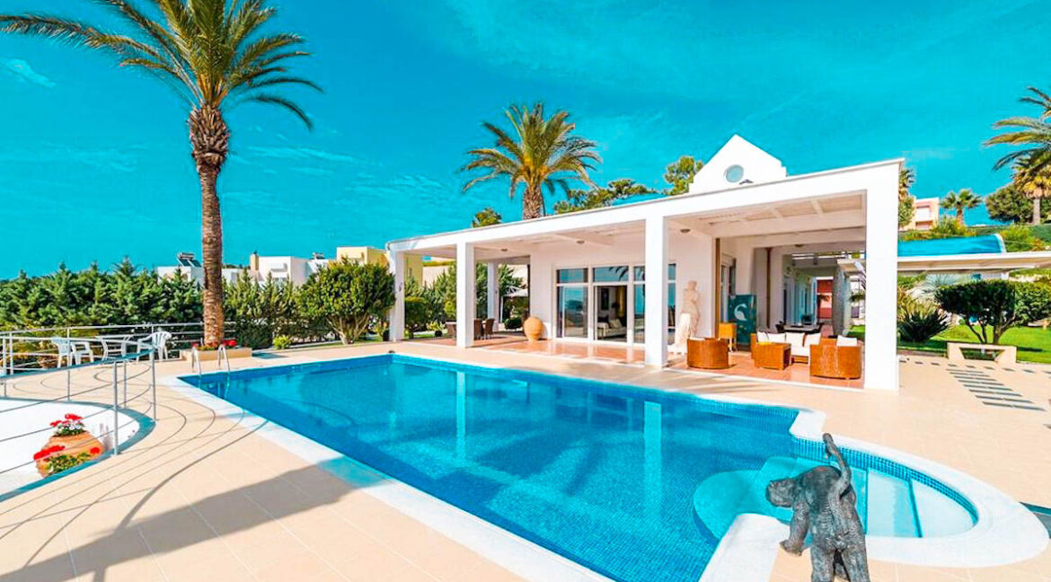 Prestige Villa in Rhodes Greece for sale, Great Villa Rodos Greece