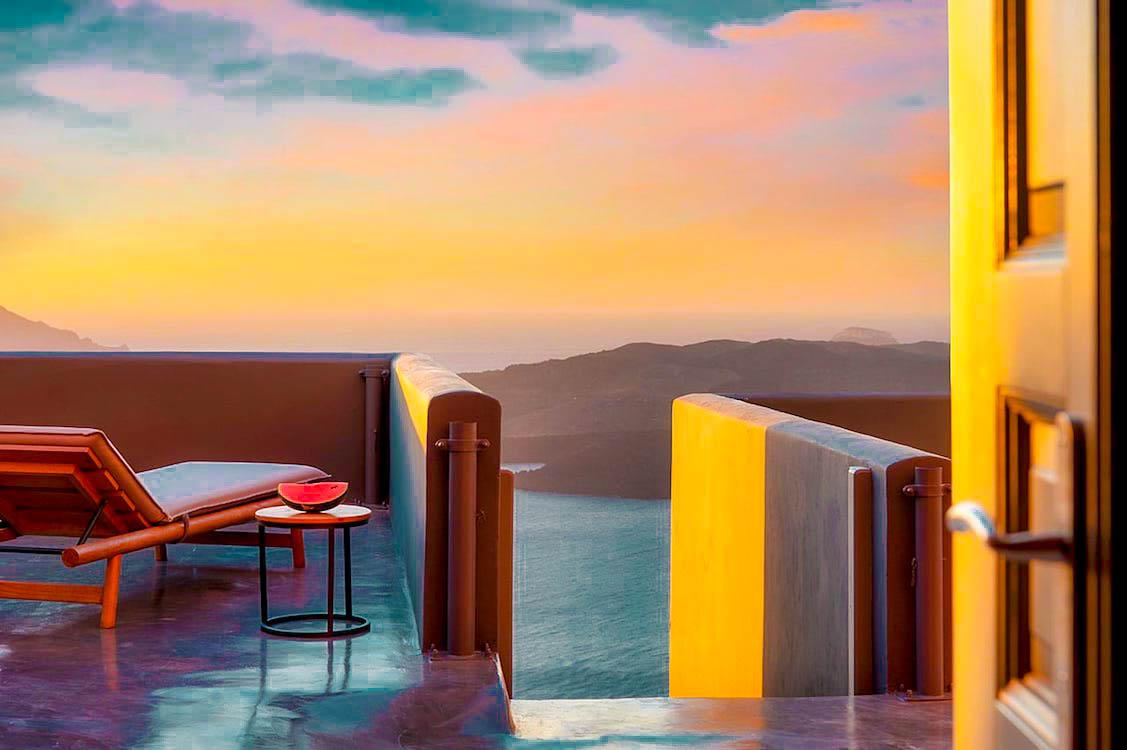 3 Properties at Center Of Santorini at Caldera, Fira Santorini