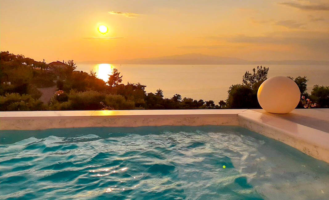 Property with Sea View in Thassos Greece. Minimal Villa for Sale in Thassos Island Greece 19