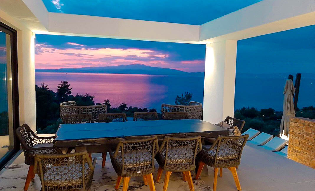Property with Sea View in Thassos Greece. Minimal Villa for Sale in Thassos Island Greece