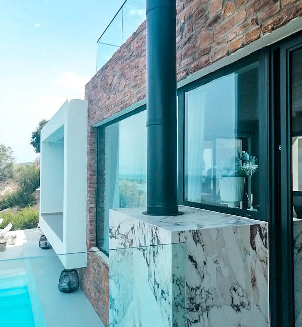 Property with Sea View in Thassos Greece. Minimal Villa for Sale in Thassos Island Greece 5