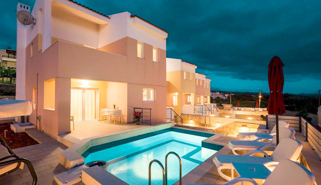 Sea View House Rethymno Crete for Sale, Villa for Sale in Crete