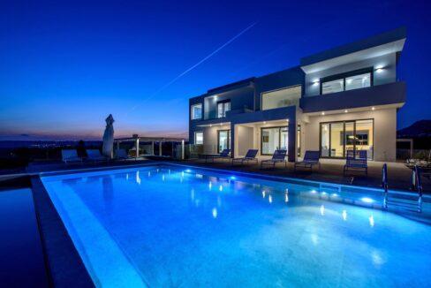 Sea View Minimal Villa in Rhodes Island. Luxury Properties Rhodes Greece