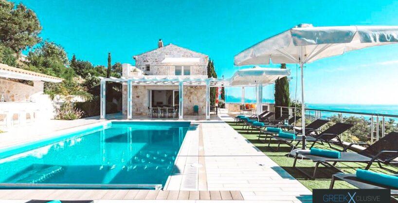 Sea View Property Zante Greece, Villas Zakynthos for Sale