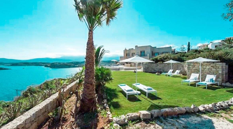 Seafront Villa Chania Crete for Sale, Waterfront Property Crete Greece