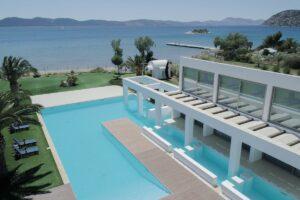 Seafront Villa Porto Heli Peloponnese, Luxury Estates in Porto Heli