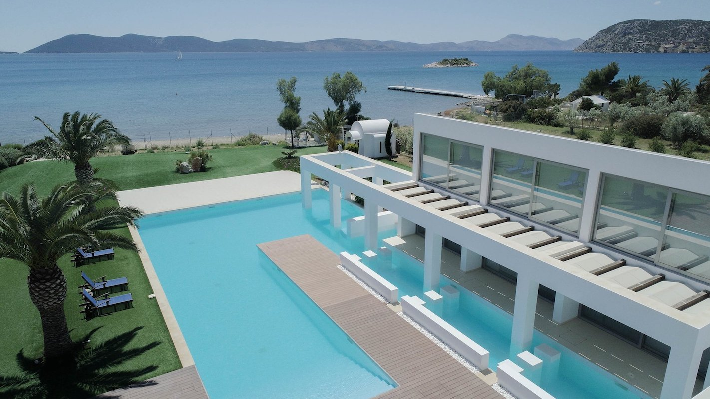 Seafront Villa Porto Heli Peloponnese