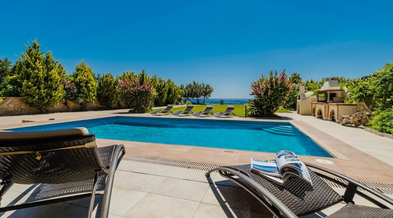 Seafront Villa Rhodes Greece. Properties in Rhodes 22