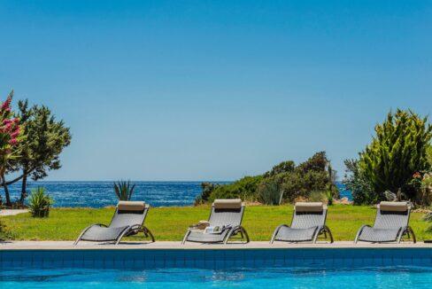Seafront Villa Rhodes Greece. Properties in Rhodes 24