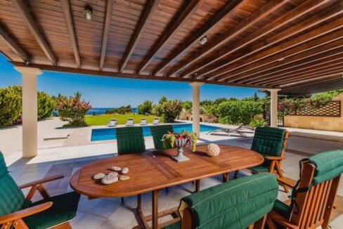 Seafront Villa Rhodes Greece. Properties in Rhodes 25