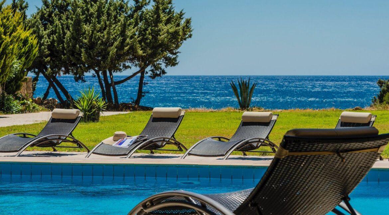 Seafront Villa Rhodes Greece. Properties in Rhodes 26
