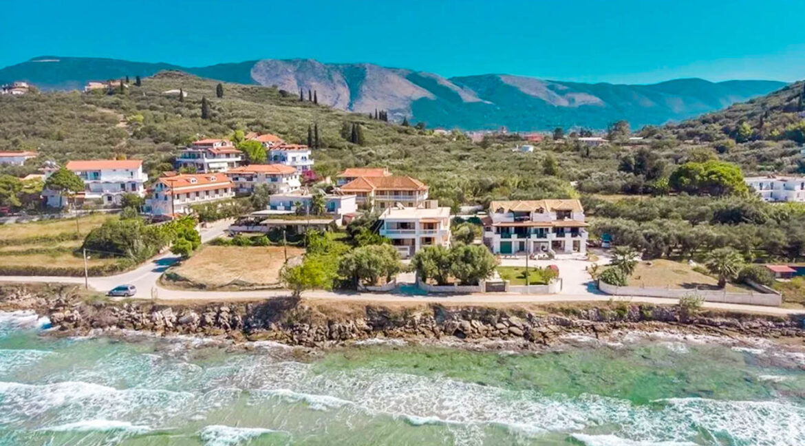 Seafront Villa Zante Island Greece, Luxury seaside villa