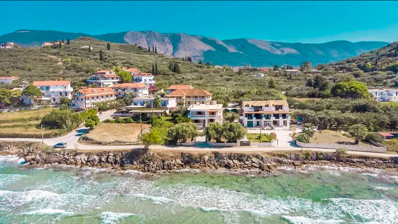 Seafront Villa Zante Island Greece,Luxury seaside villa