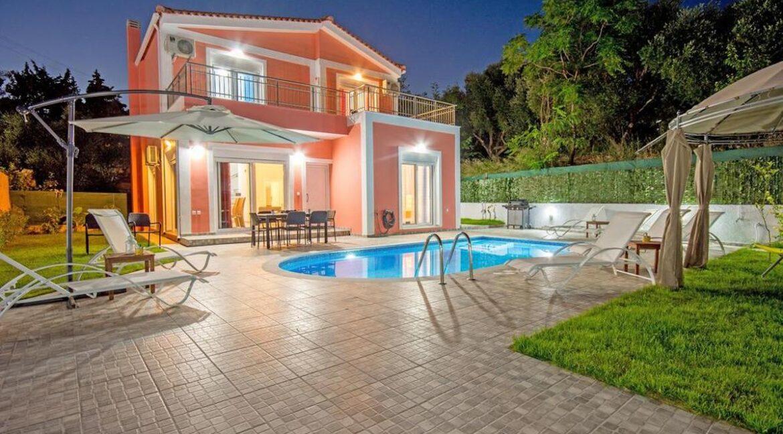 Seafront Villas in Zakynthos, Complex of 2 villas for sale 24