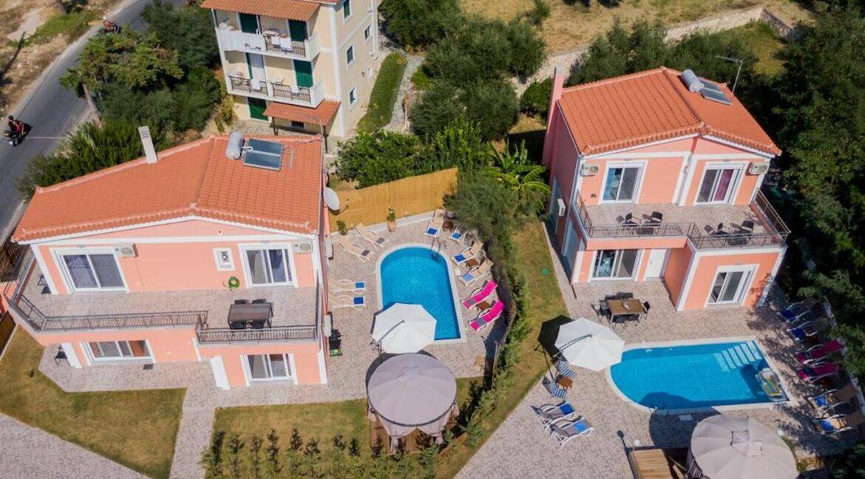Seafront Villas in Zakynthos, Complex of 2 villas for sale 25