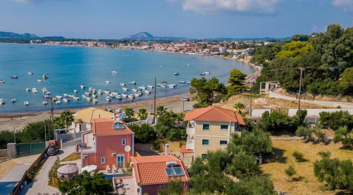 Seafront Villas in Zakynthos, Complex of 2 villas for sale
